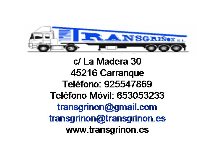TRANSPORTES TRANSGRIÑON SL