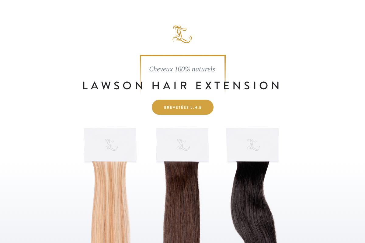 lawson hair extension