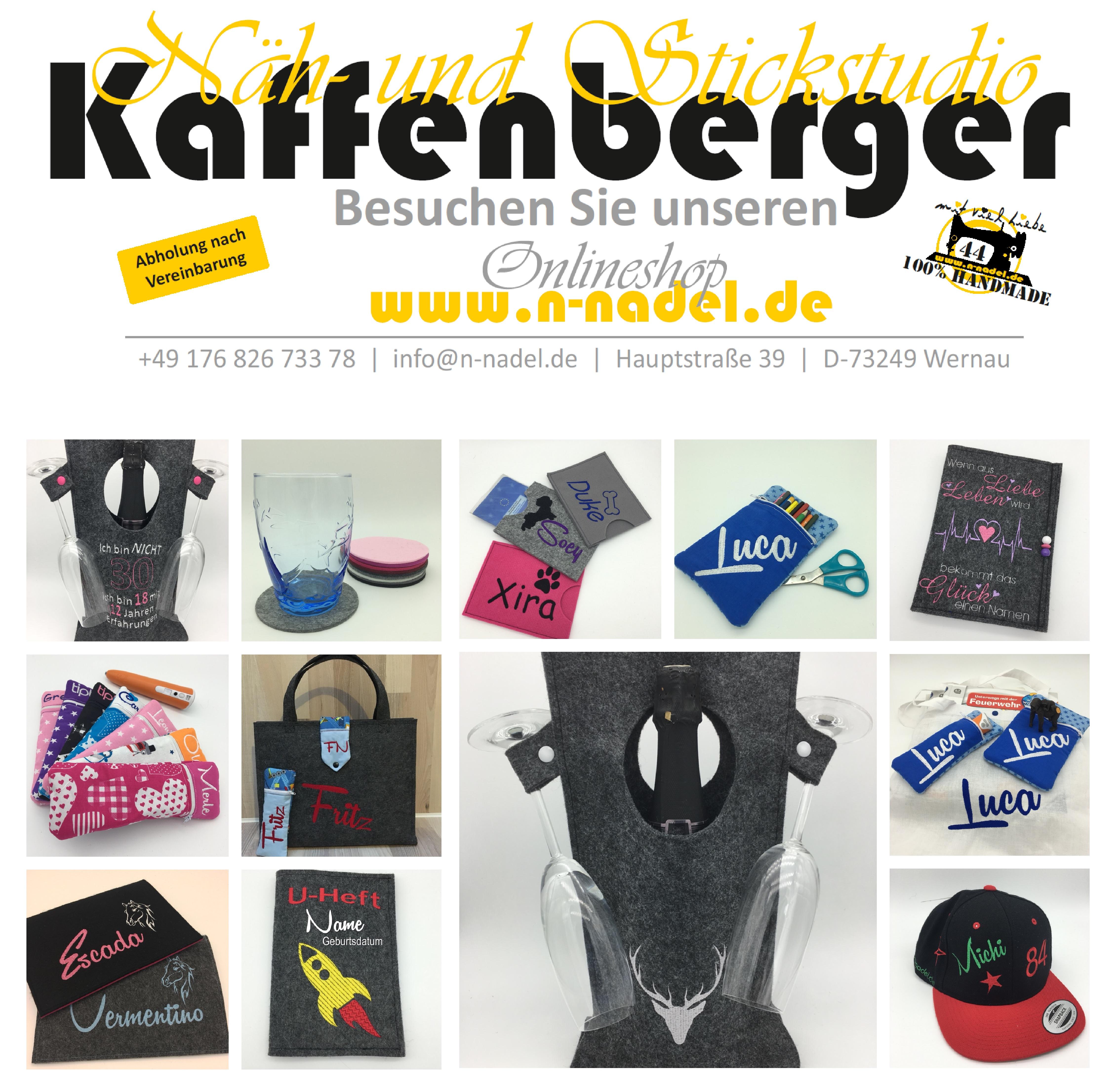 n-nadel.DE - Näherei & Stickerei Studio KAFFENBERGER - Michael Kaffenberger