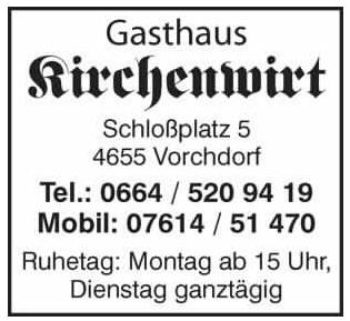 Kirchenwirt Vorchdorf
