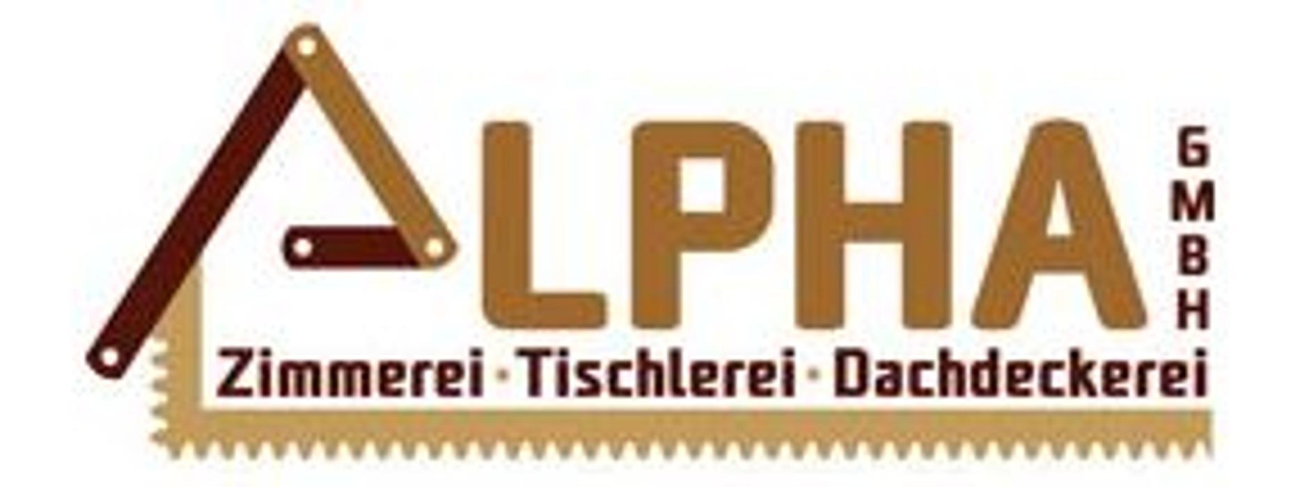 Logo von Alpha GmbH Fenster-Türen- Holztreppen-Zimmerei