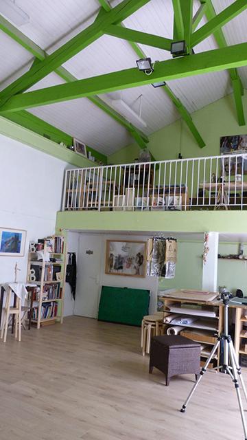 Atelier du singe vert