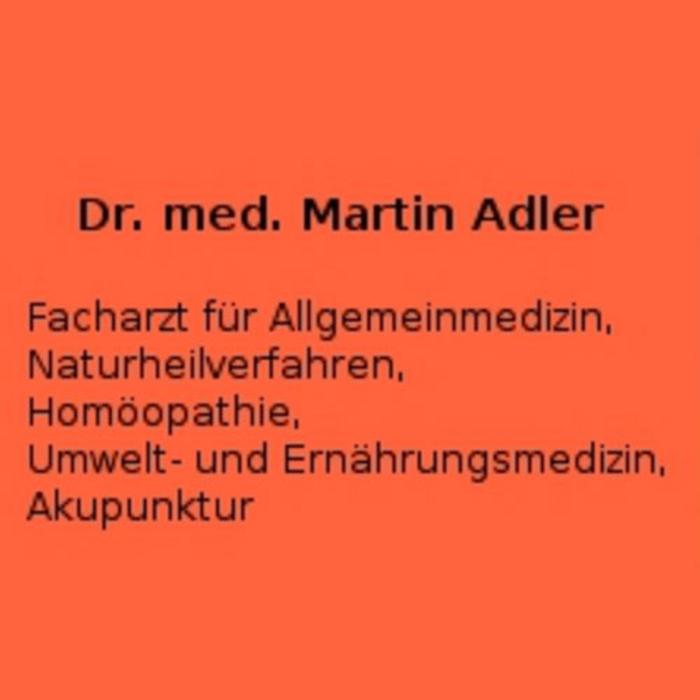 Dr. med. Martin Adler