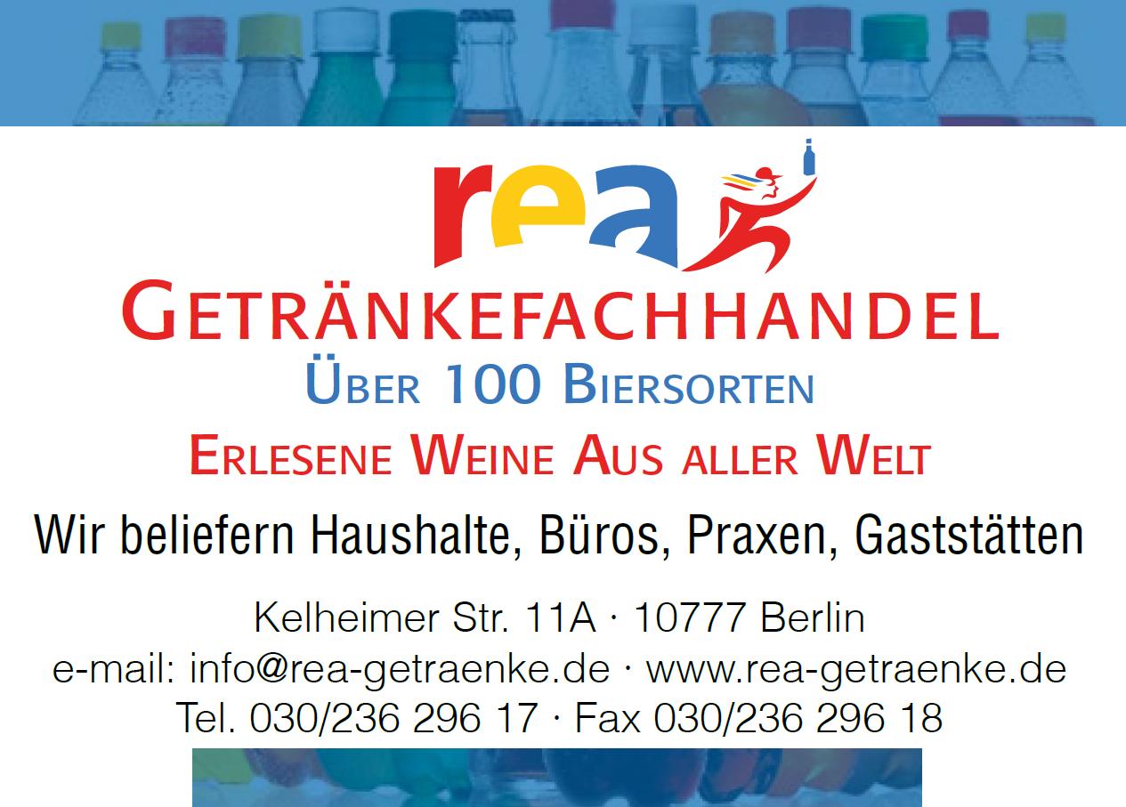 Rea-Getränkefachhandel Lieferservice