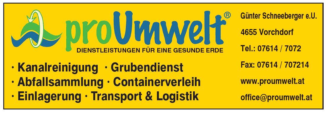 Schneeberger Günter e.U. - Entsorgung - Transport