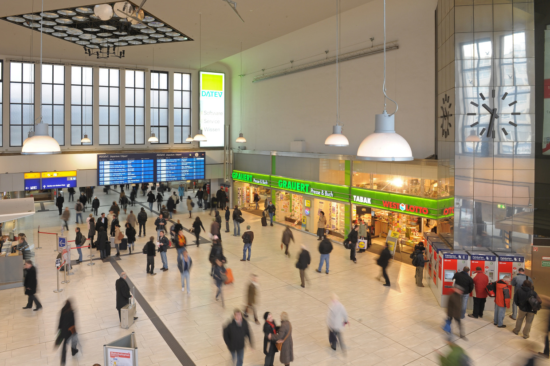 Einkaufsbahnhof Düsseldorf Hbf