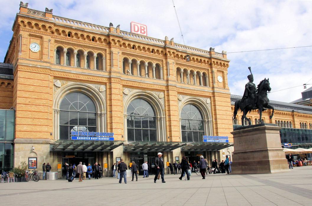 Einkaufsbahnhof Hannover Hbf, Ernst-August-Platz in Hannover