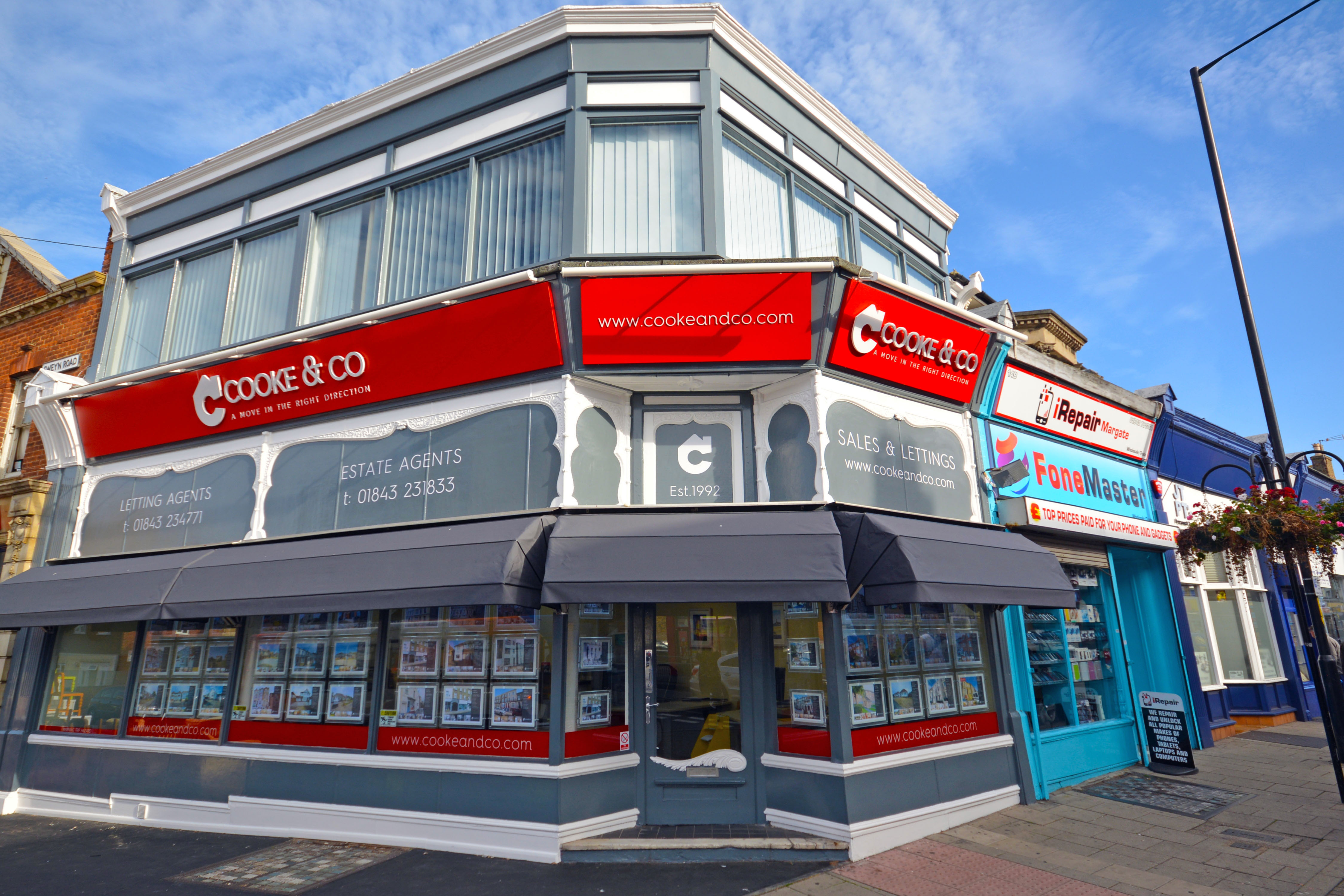 Cooke & Co Estate Agents and Letting Agents - Margate, Kent CT9 2QY - 01843 231833 | ShowMeLocal.com