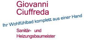 Giovanni Ciuffreda Sanitär- und Heizungsbaumeister