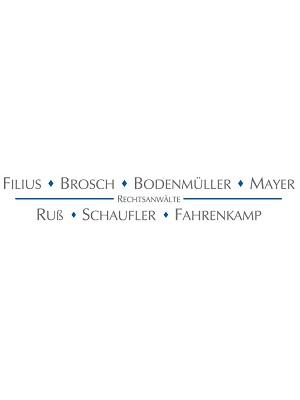 Filius Brosch Bodenmüller Mayer Ruß Schaufler Fahrenkamp Seng-Roth Rechtsanwälte