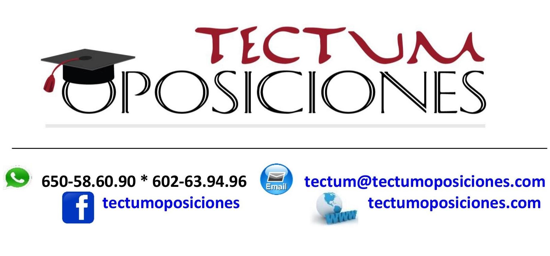 Tectum Oposiciones