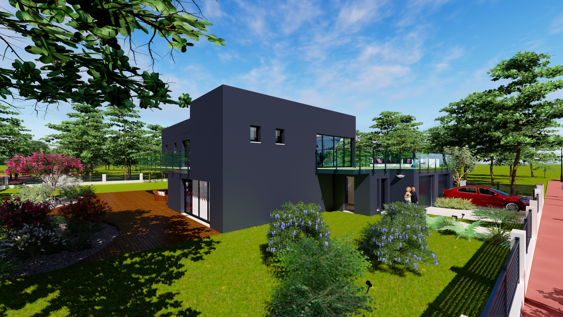 Ludovic Briand home plan & design
