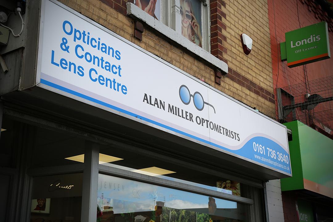 Alan Miller Optometrists - Salford, Lancashire M6 5GY - 01617 363640   ShowMeLocal.com