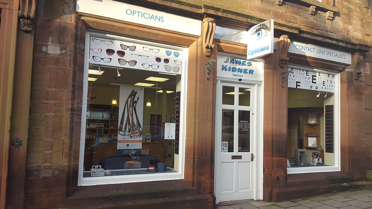 James Kidner Opticians - Lockerbie, Dumfriesshire DG11 2JL - 01576 203199 | ShowMeLocal.com
