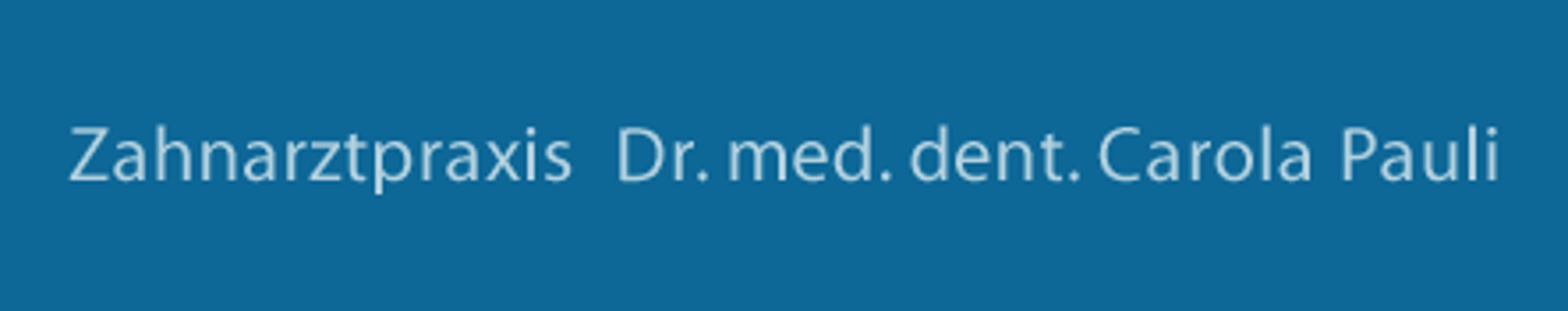 Bild zu Zahnarztpraxis Dr. med. dent. Carola Pauli in Berlin