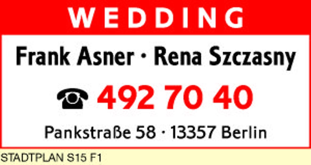Frank Asner Rena Szczasny Rechtsanwälte Berlin Pankstraße 58