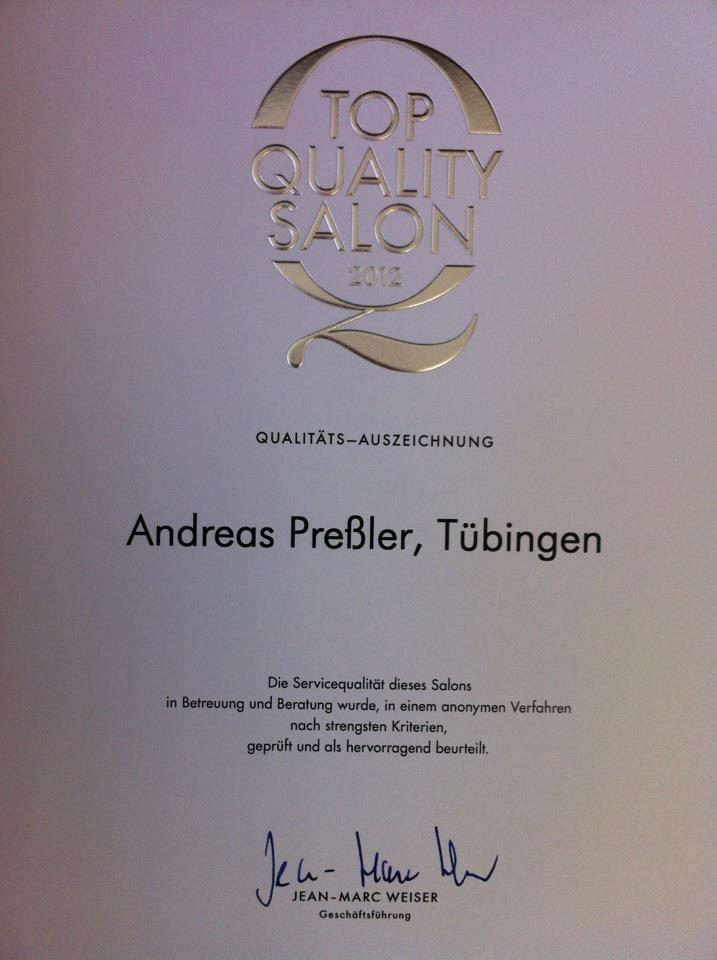 Friseur Andreas Preßler