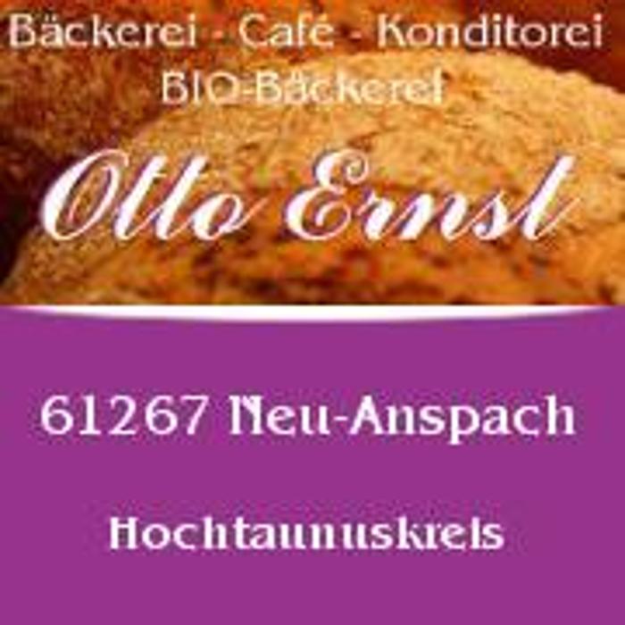 Bild zu Bäckerei Otto Ernst Konditorei, Café, Bio-Backwaren in Neu Anspach