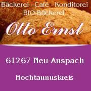 Bäckerei Otto Ernst Konditorei, Café, Bio-Backwaren