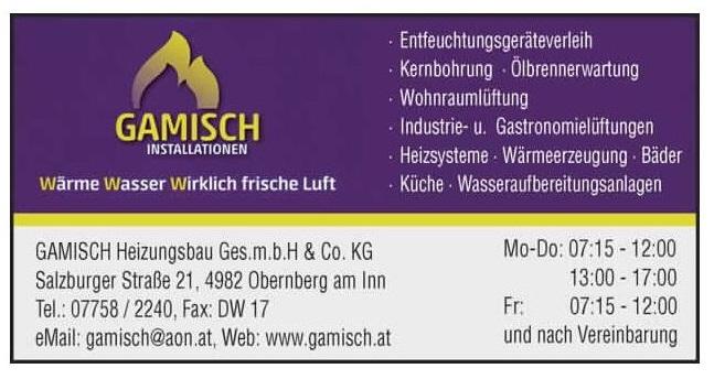 GAMISCH Heizungsbau Ges.m.b.H. & Co. KG