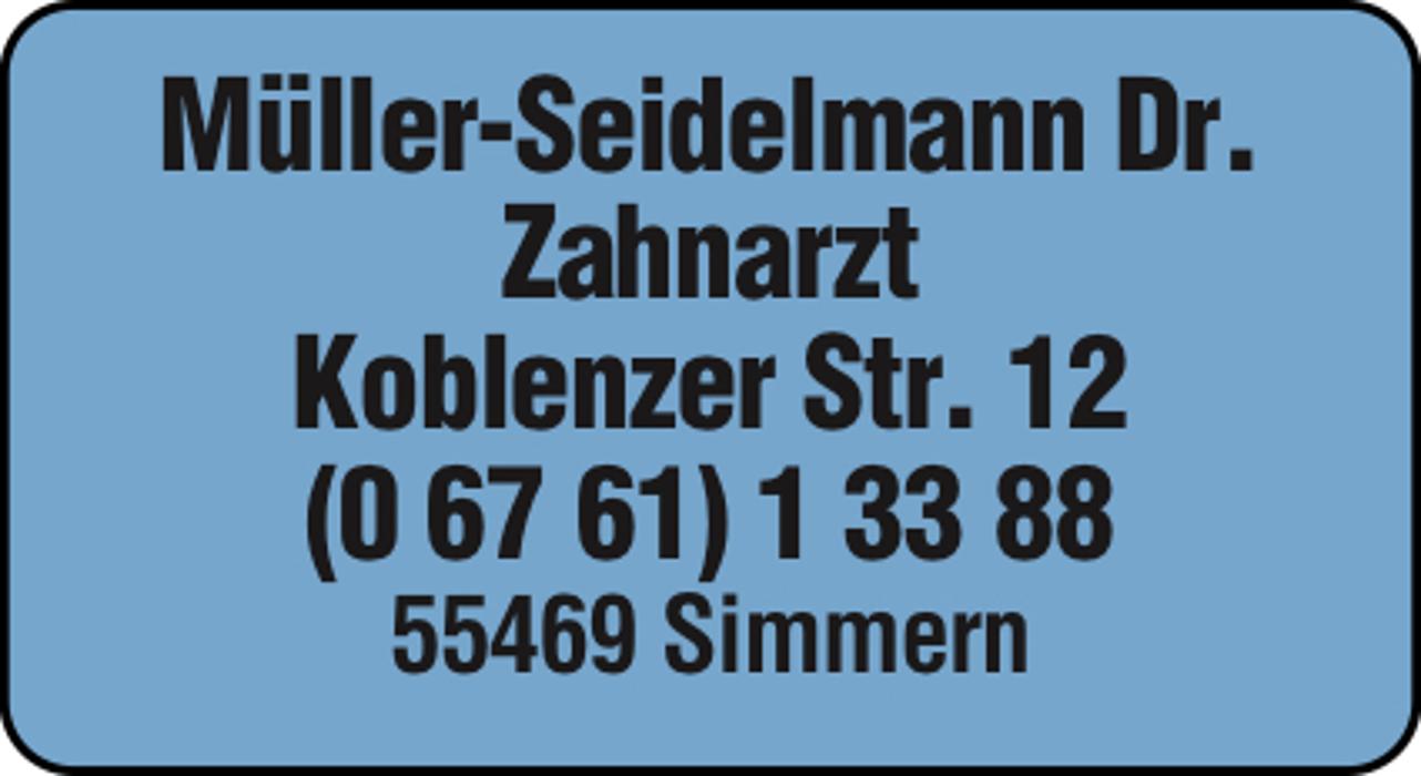 Bild zu Dr. F. Müller-Seidelmann Zahnarzt in Simmern im Hunsrück
