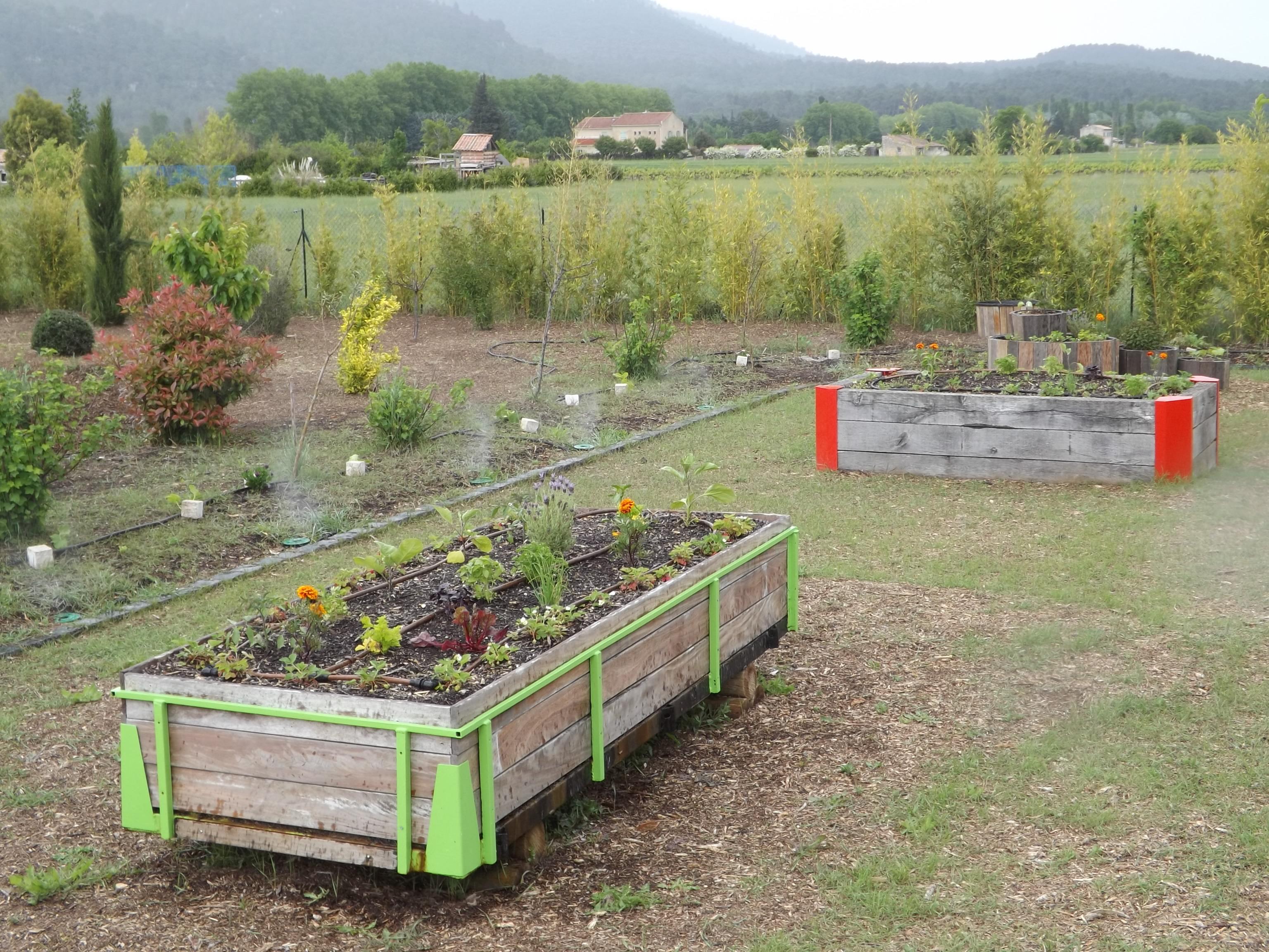 Jardin école bio