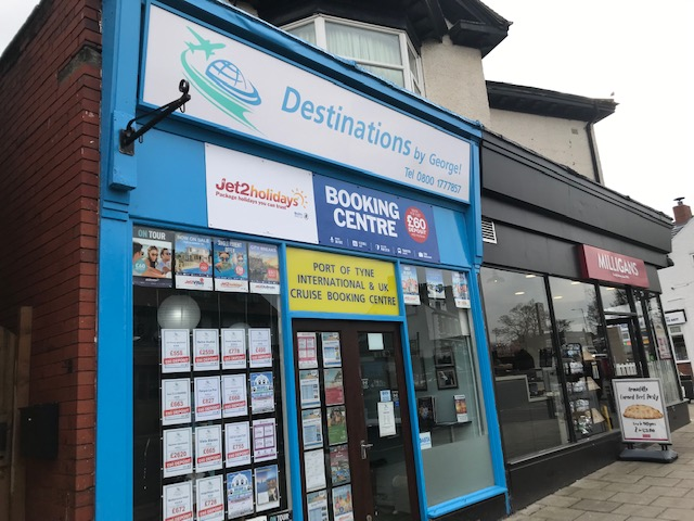 Destinations by George! - Monkseaton, Tyne and Wear NE25 8AN - 08001 777857 | ShowMeLocal.com