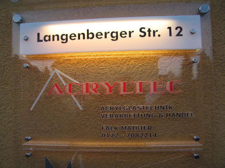 Bild zu Acryltec, Acrylglasverarbeitung in Limbach Oberfrohna