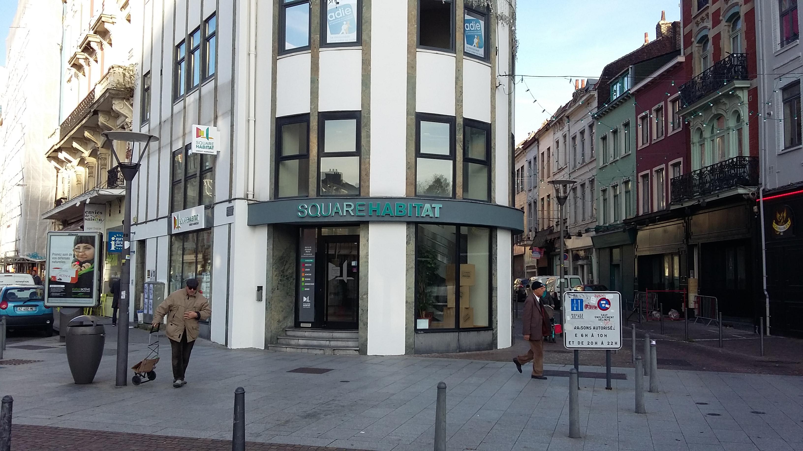 Square Habitat Roubaix Mairie
