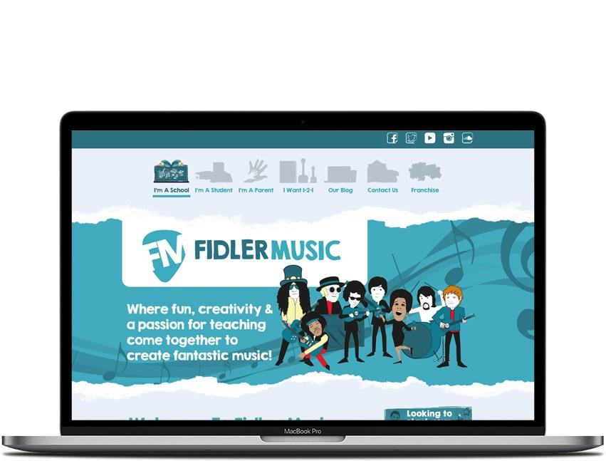 Inventis Website Design