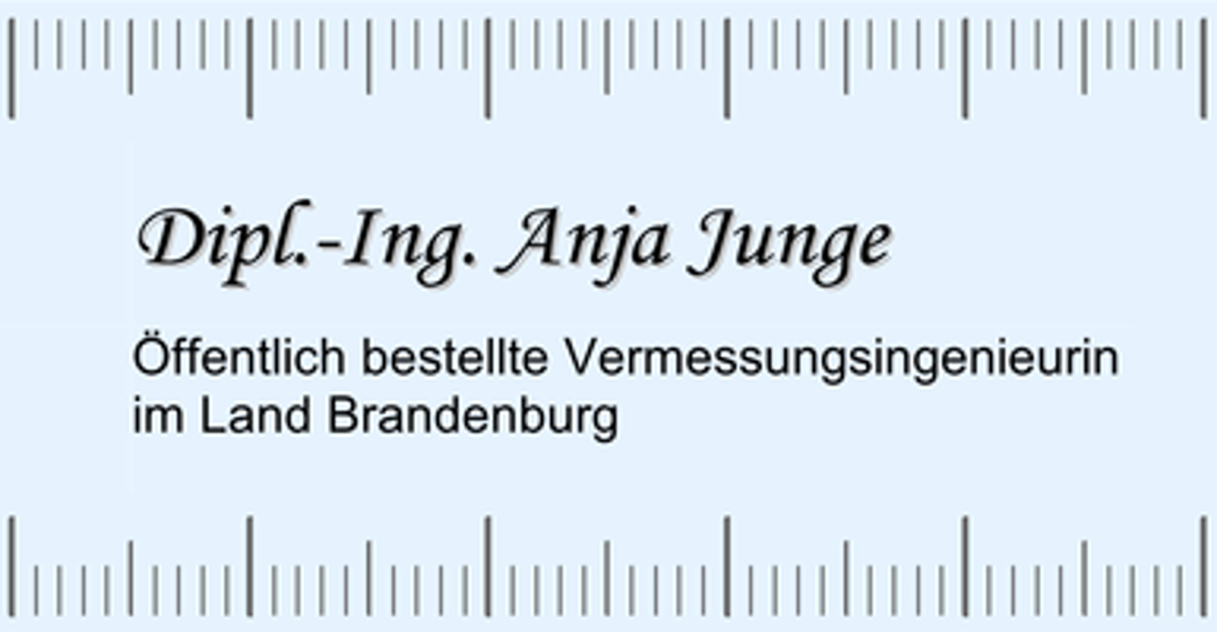 Bild zu Vermessungsbüro Dipl.-Ing. Anja Junge in Schöneiche bei Berlin
