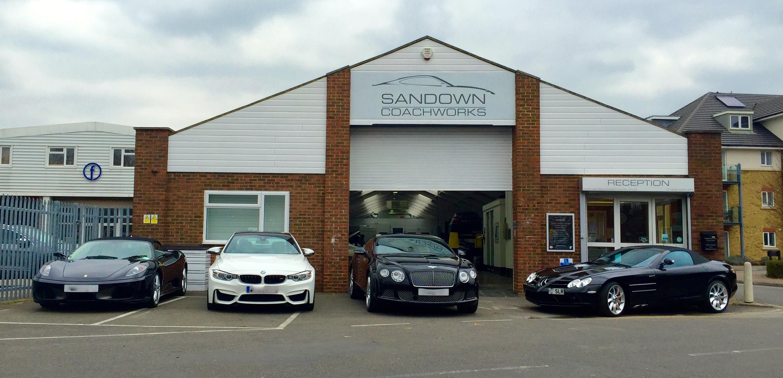 Sandown Coachworks - Shepperton, Surrey TW17 8AB - 01932 240471 | ShowMeLocal.com