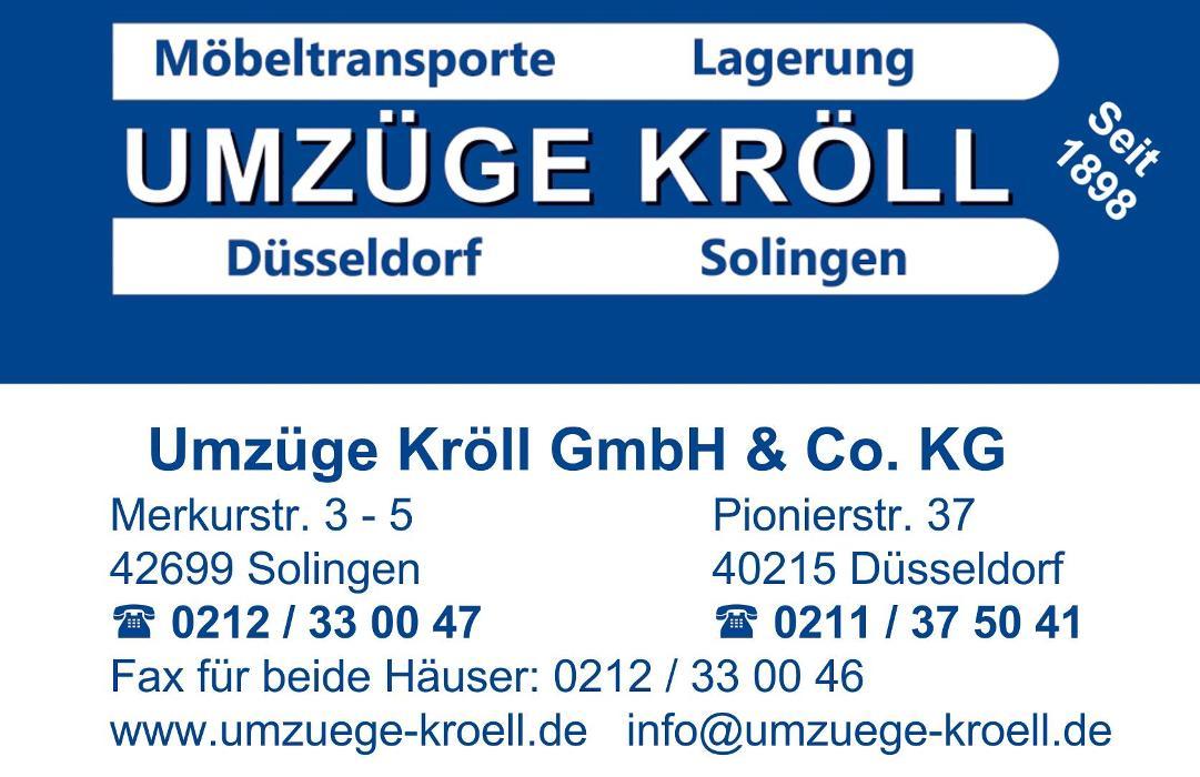 Bild zu Umzüge Kröll GmbH & Co. KG in Solingen