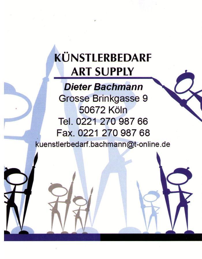 Bild zu Künstlerbedarf Dieter Bachmann in Köln