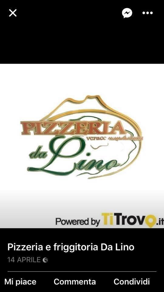 Pizzeria E Friggitoria Da Lino Di Damiano Pasquale