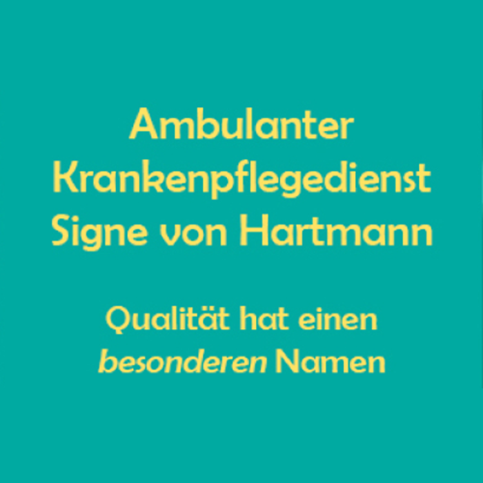 Bild zu Ambulanter Krankenpflegedienst Signe von Hartmann in Schwelm