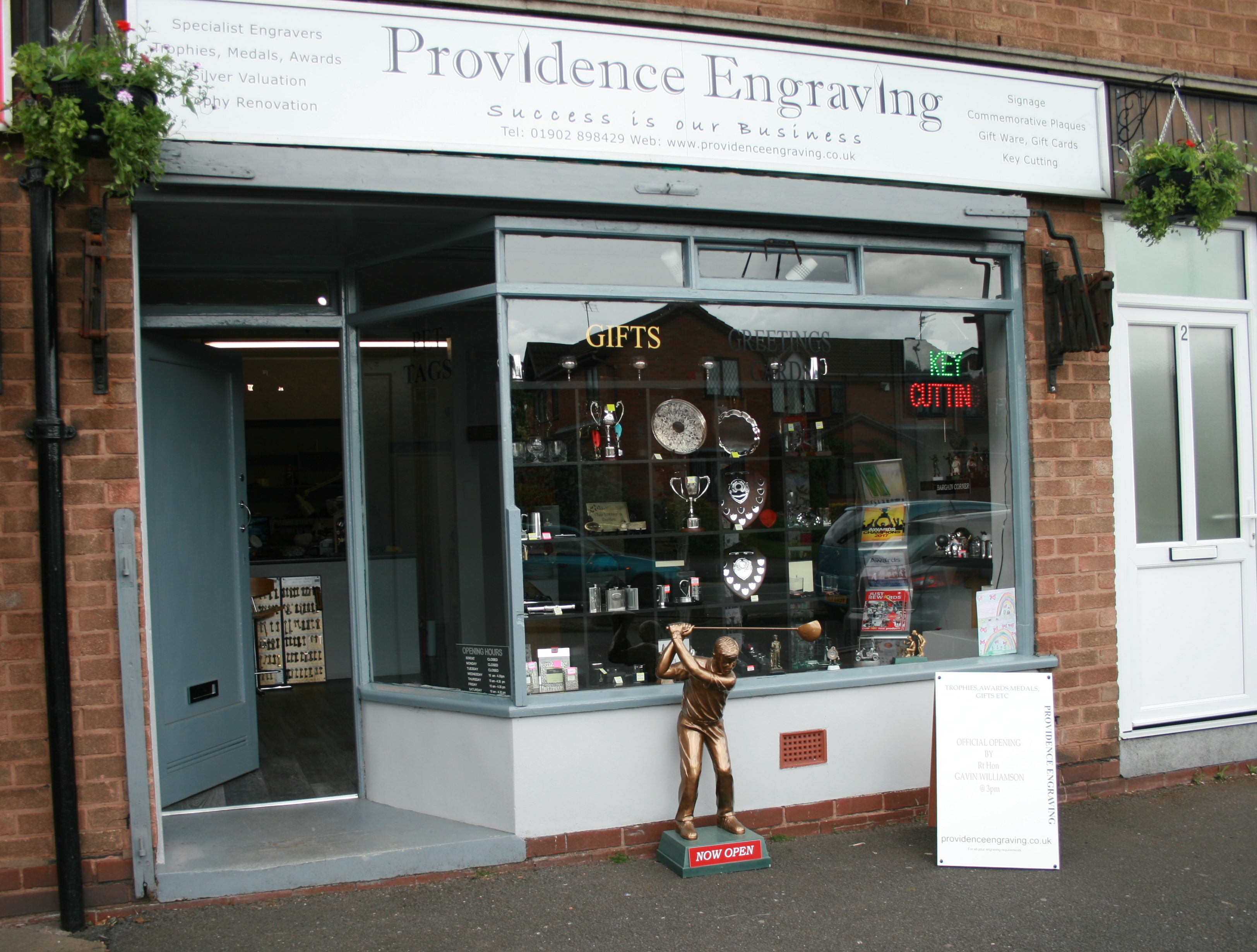 Providence Engraving - Wombourne, Staffordshire WV5 0AN - 01902 898429 | ShowMeLocal.com
