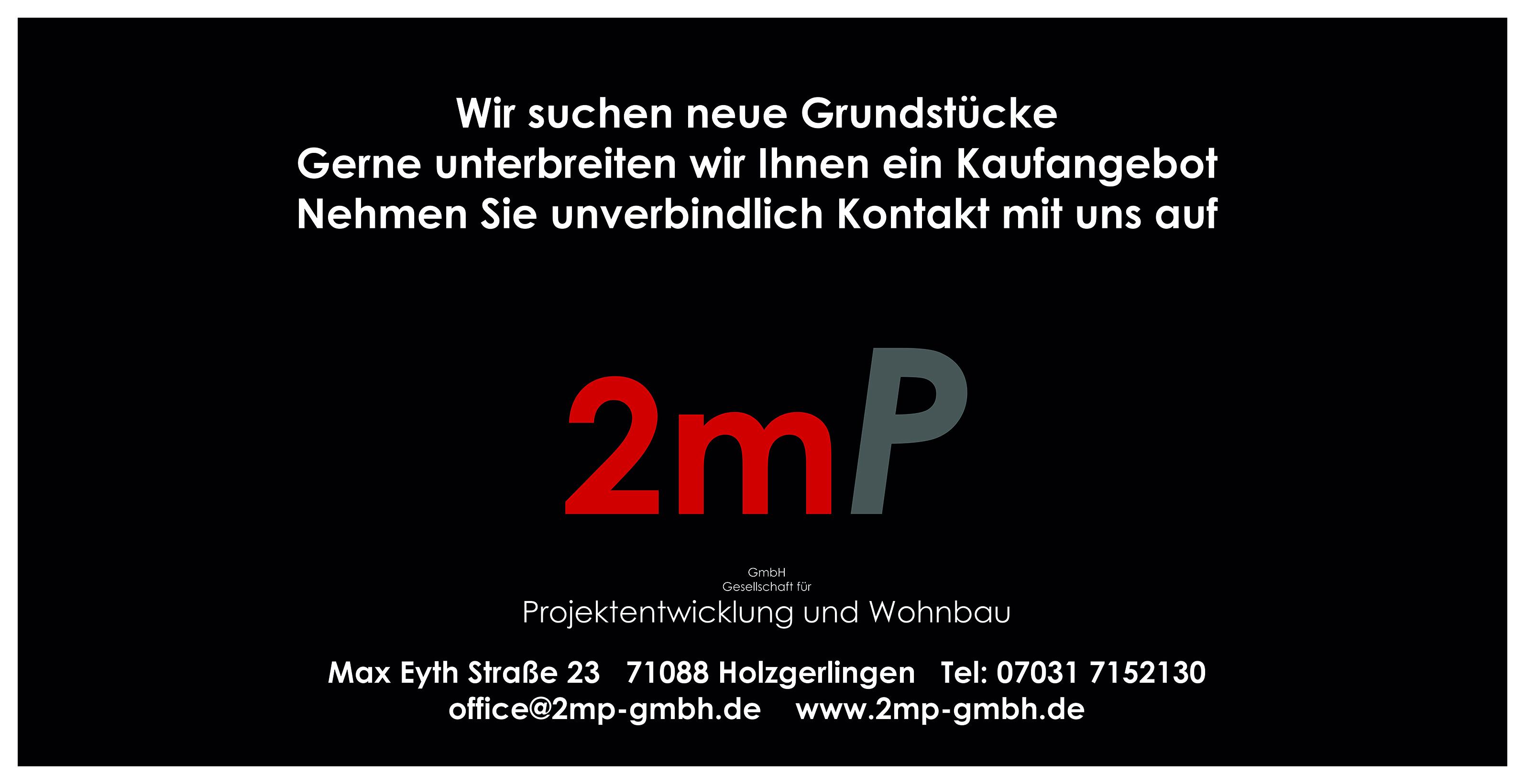 2mP GmbH Gesellschaft für Projektentwicklung und Wohnbau
