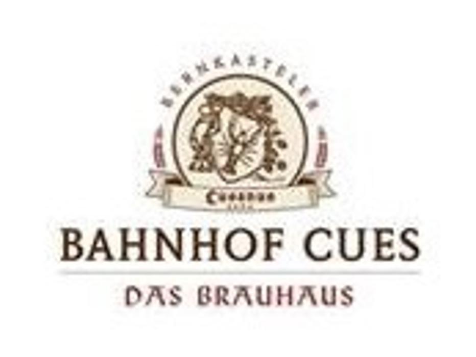 Logo von Bahnhof Cues- Das Brauhaus