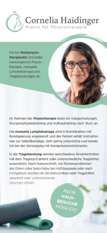 Cornelia Haidinger - Praxis für Physiotherapie • Marchtrenk ...