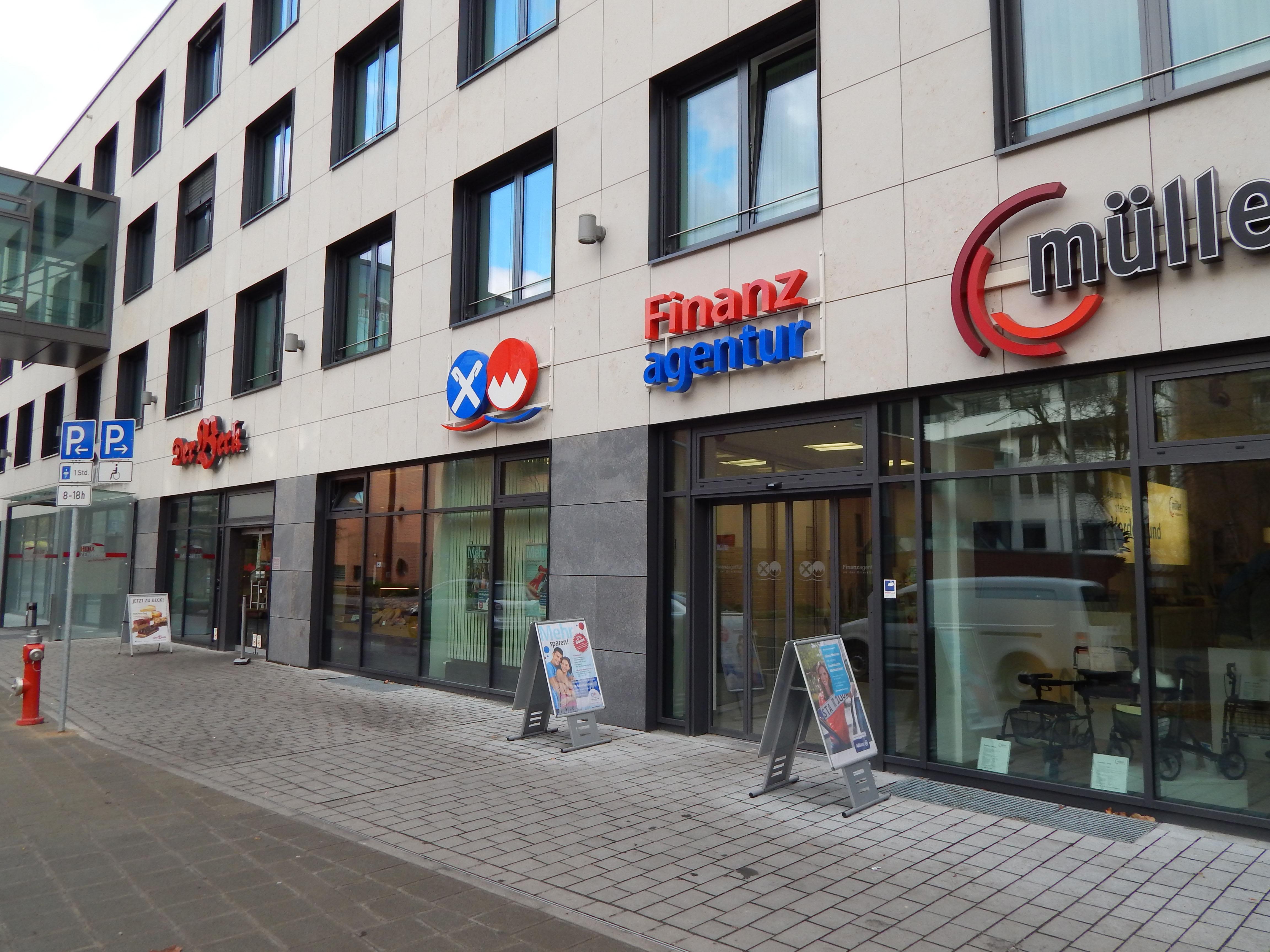 Vereinigte Raiffeisenbanken - SB-Stelle in der Erlerklinik Nürnberg