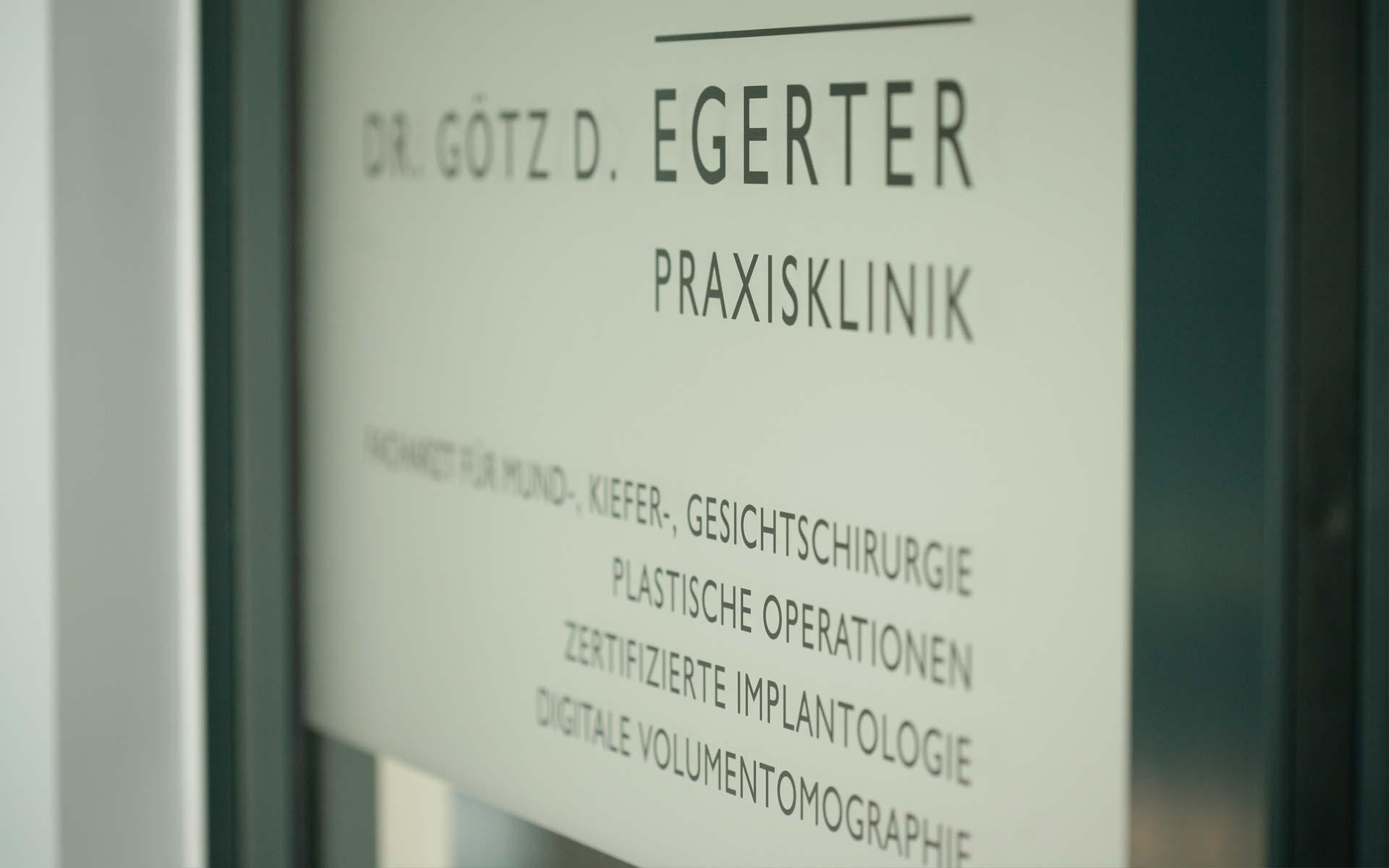 Praxisklinik Dr. Götz D. Egerter