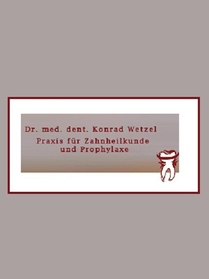 Bild zu Dr. Konrad Wetzel, Praxis für Zahnheilkunde und Prophylaxe in Crailsheim