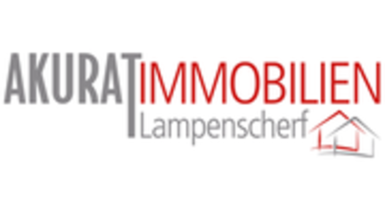 Logo von AKURAT Immobilien Lampenscherf