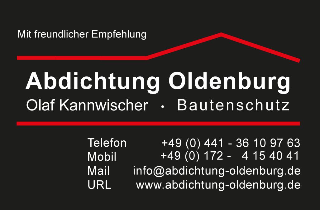 Abdichtung Oldenburg Olaf Kannwischer - Bautenschutz