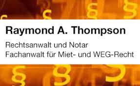 Raymond A. Thompson Rechtsanwalt und Notar, FA für Miet- und Wohnungseigentumsrecht