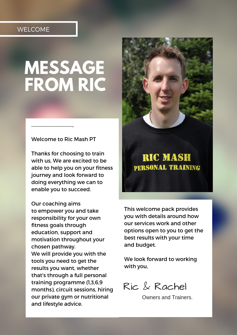 Ric Mash Fitness & Personal Training - North Walsham, Norfolk NR28 9HL - 07887 406902 | ShowMeLocal.com