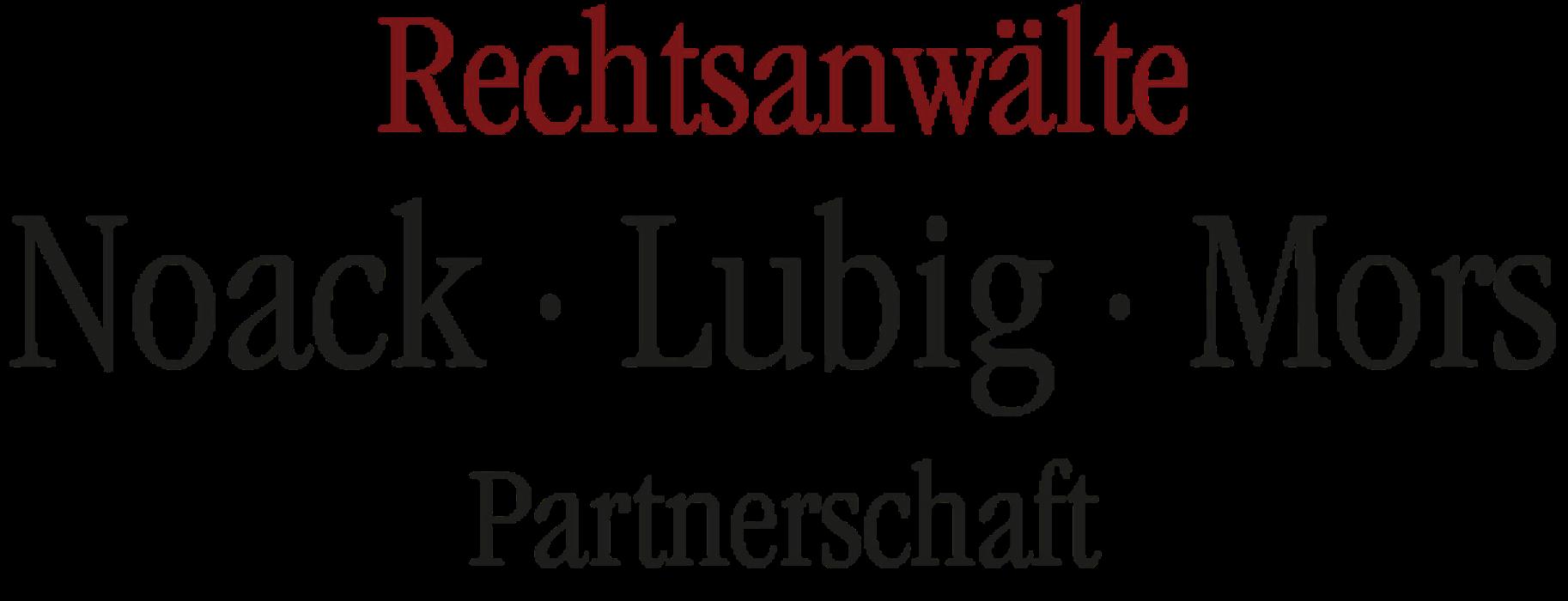 Bild zu Rechtsanwälte Noack - Lubig - Mors Partnerschaft in Berlin
