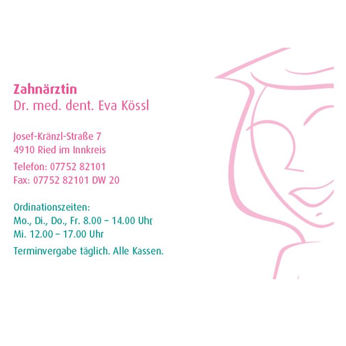 Zahnärztin - Dr.med.dent. Eva Kössl