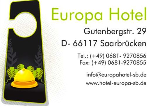 Europa Hotel Saarbrücken